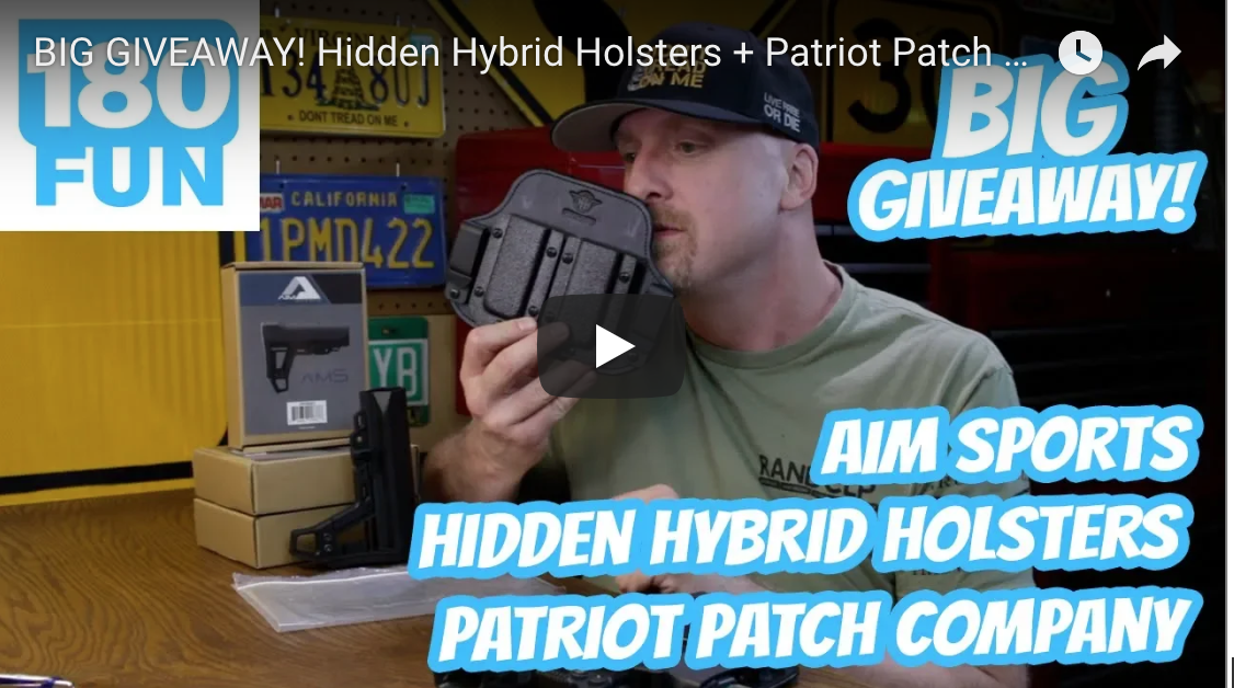 big giveaway hidden hybrid holsters patriot patch co aim